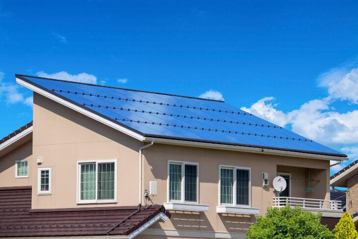 ZEH(ネット・ゼロ・エネルギー・ハウス)太陽光発電ソーラーパネル