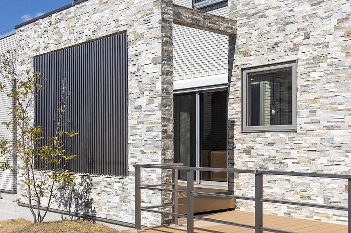 サイディングは模様の種類が豊富で、北欧風の外壁に仕上げることもできる