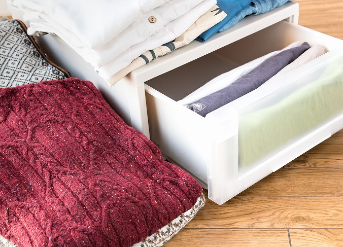 【洋服のおすすめ収納方法】ケース・ボックスを使ったアイデア術