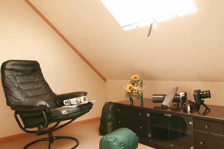 ロフトより天井が高く床面積も広いため、ライフスタイルに合わせたリフォームをすることで快適な空間を作ることができる