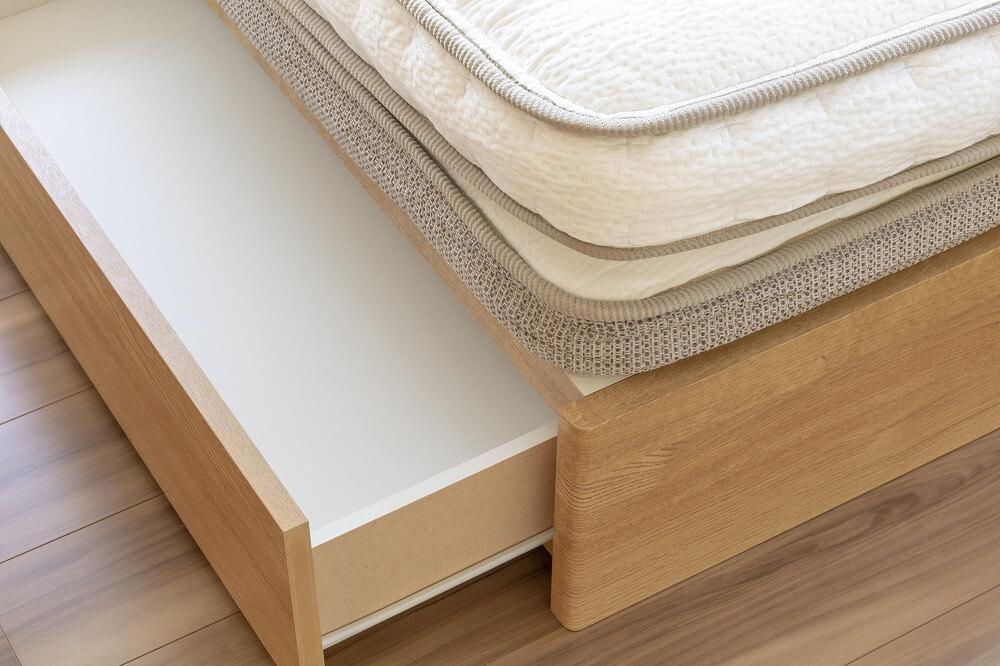 【ベッド下収納】スペースを上手に活用するおすすめ収納アイデア
