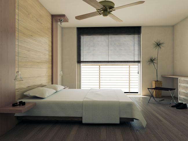 寝室の収納は家具の隙間を活用。デッドスペースを活かした収納方法を紹介