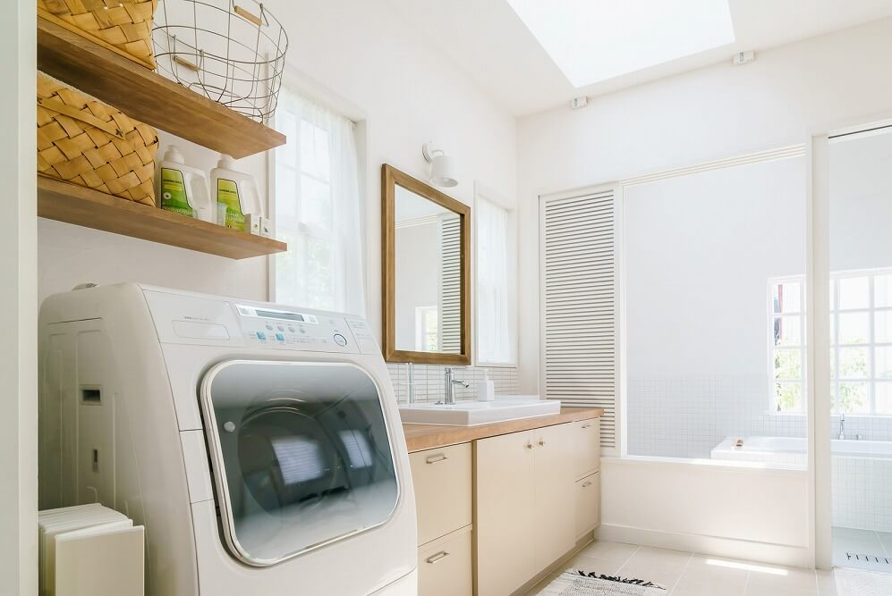 洗面所をおしゃれに変えるインテリアと収納アイデア
