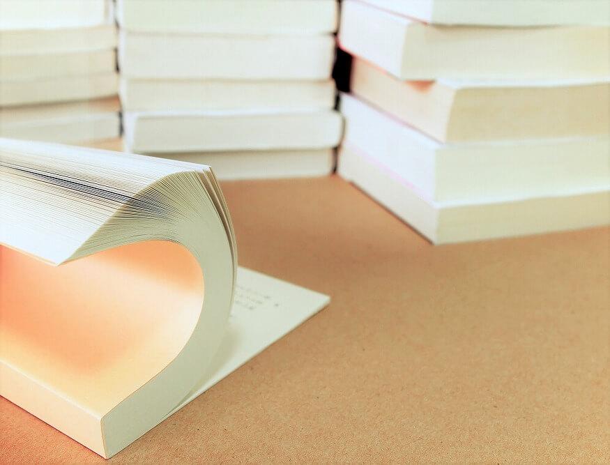 本の収納アイデア|文庫本の保管ポイントとアイテム別の収納術、本棚の簡単DIY方法を紹介