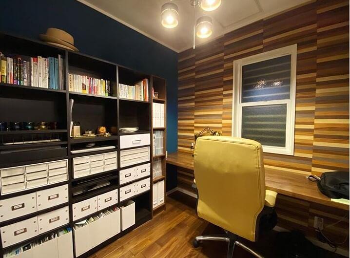 書斎、仕事部屋にする