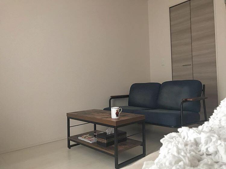 アンティーク調のソファ