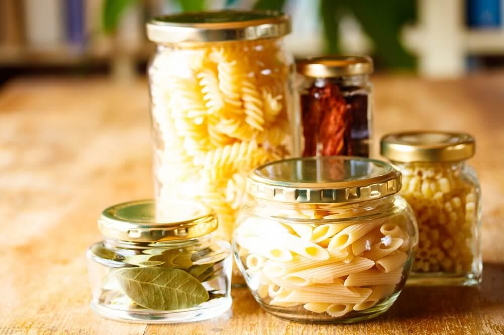 乾物、乾麺、粉もの収納のコツは?便利な保存容器やおしゃれな収納方法を紹介