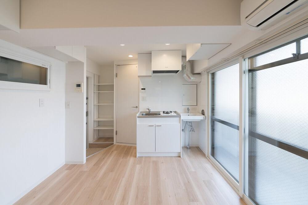 ワンルームインテリア 6畳ワンルームでも8畳ワンルームでも広く見せるコツとは?
