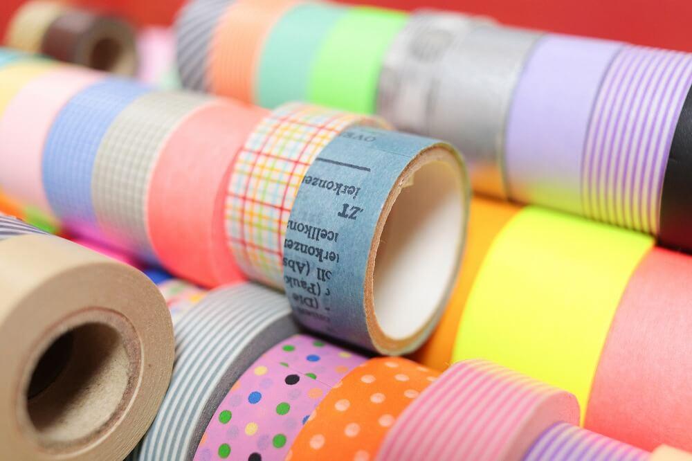 大量のマスキングテープをおしゃれに収納するアイデアを紹介