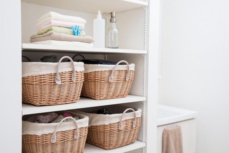 洗面所の収納をスッキリ。基本の収納術とおしゃれな収納アイデアを紹介