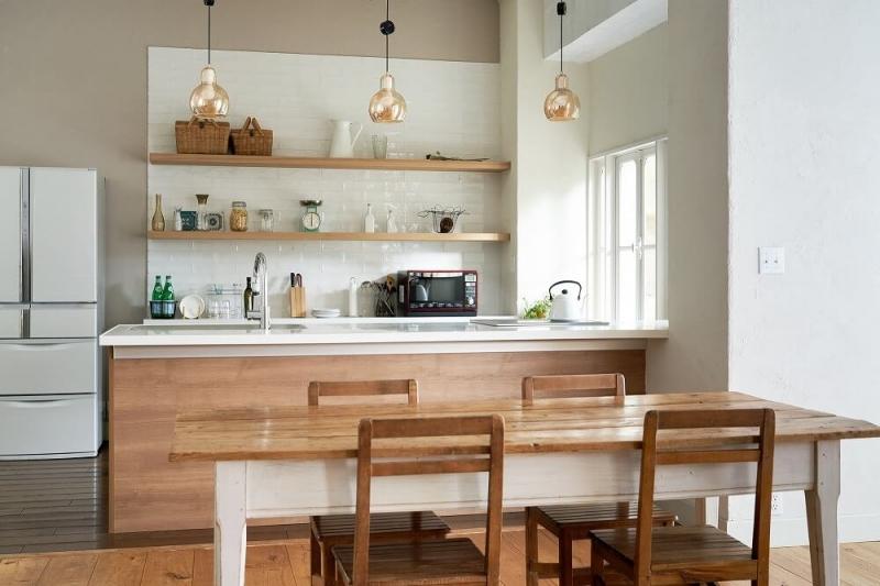対面キッチンのメリットとデメリット、インテリアレイアウトを紹介