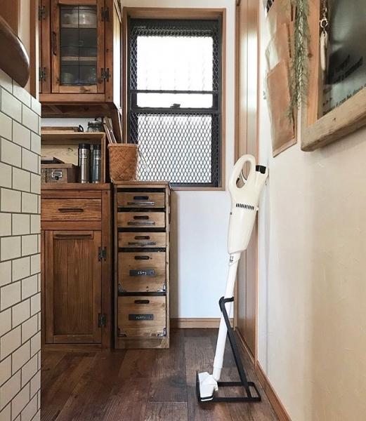 掃除する動線を意識した収納場所を決める