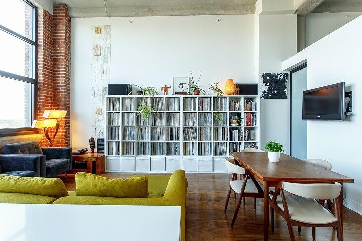 ニューヨーカーが住む部屋をイメージする