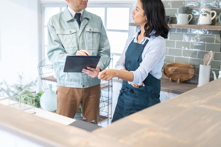 リフォームの際は施工会社にしっかり相談することが、理想のキッチンを作る上で重要