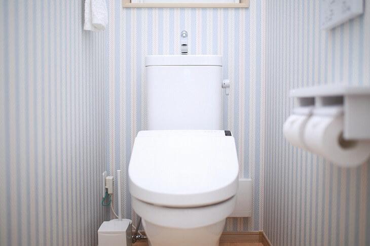 トイレに必要なそれぞれの部分が組み合わさっている組み合わせ式トイレ。最もポピュラーで費用も手ごろ
