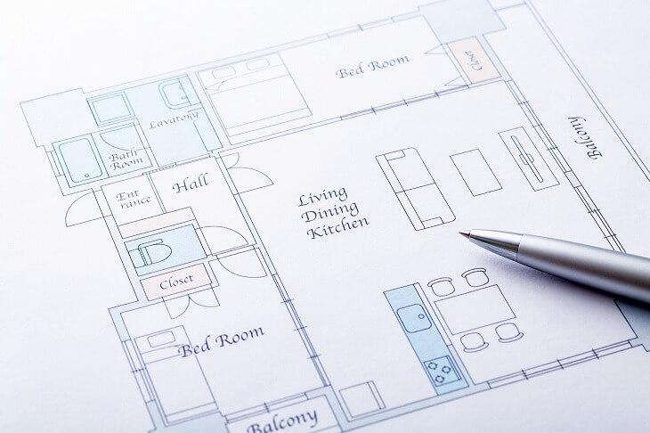 プレハブ住宅は構造上の問題で間取り変更のリノベーションができないことも。業者に確認しよう