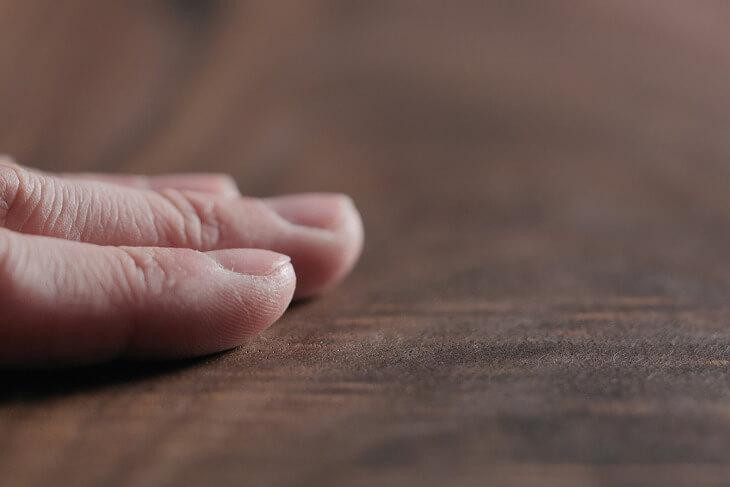 密度が高くツルツルとした肌触りが魅力のひとつ