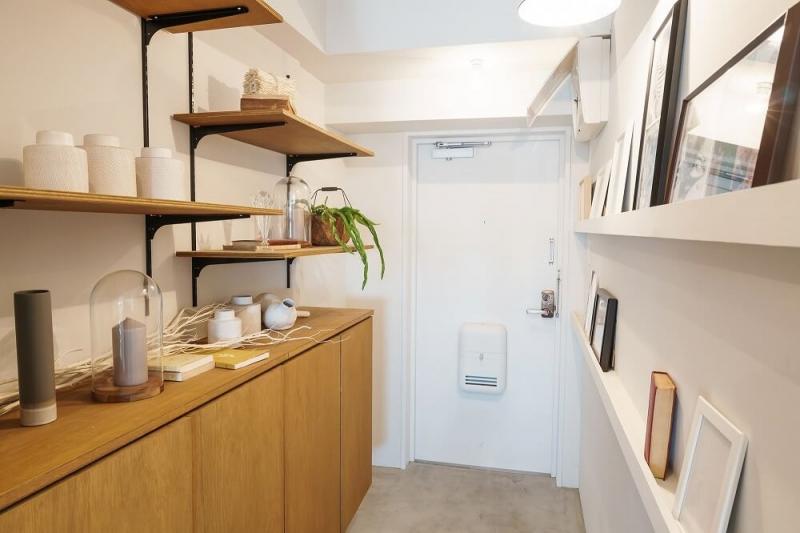 マンションのリノベーションで玄関ドアや土間の拡張、収納力をアップしておしゃれな空間を実現