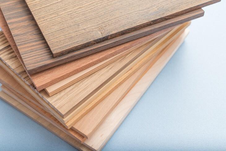 タモ材とオーク材・ナラ材との見分ける方法