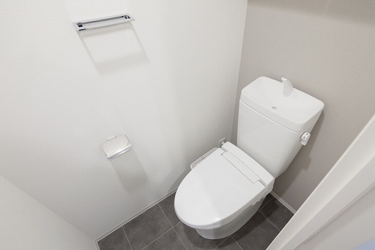 タンク式トイレなら手洗いが一体型のものも