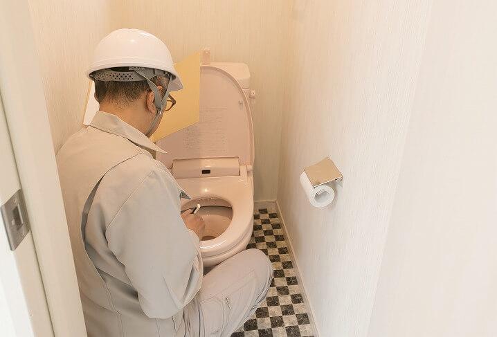 トイレの手洗い器の工事にかかる時間