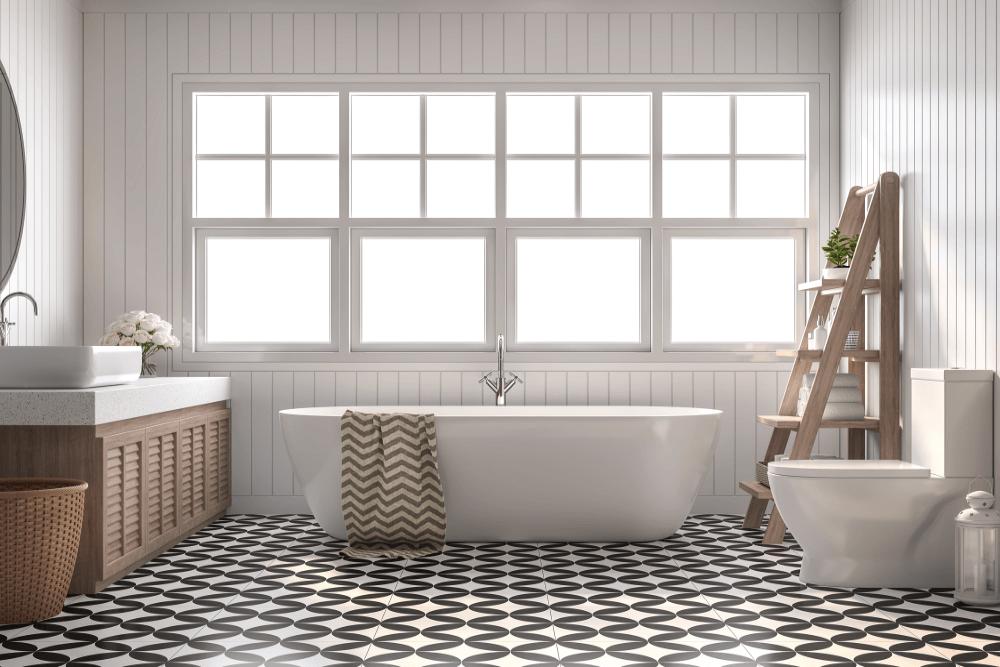バスタブをおしゃれにリノベーション。海外のバスルームのような浴室コーディネートも紹介
