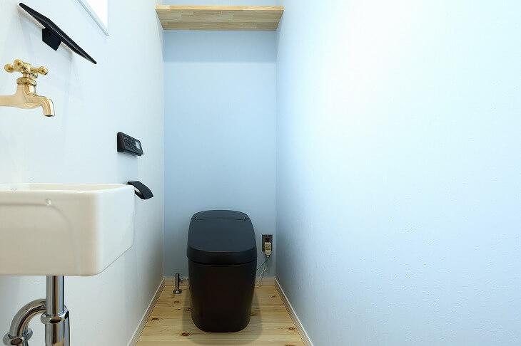 手洗い場を設置できるトイレの広さ