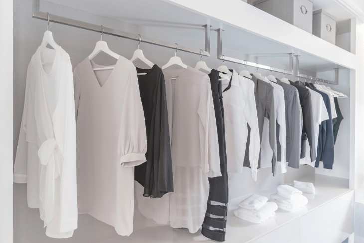 ハンガーラックタイプ:衣類収納がメインのおすすめ