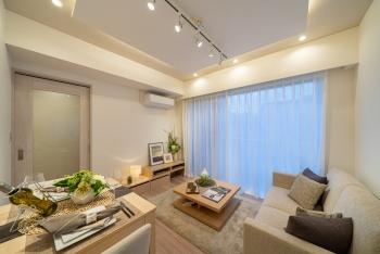 【FeelM西新宿 207号室】再開発が進む街で、ペットとともに楽しく暮らす