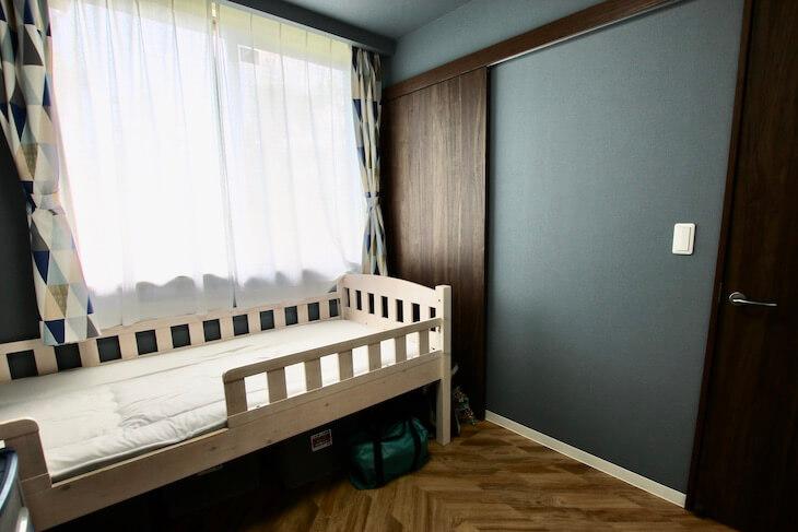 部屋ごとに異なるデザインで自由な内装