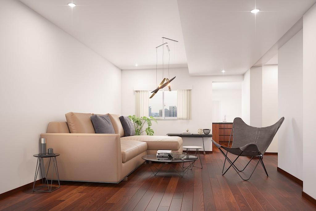 「余白のある生活」を楽しめる世田谷松原の低層ログマンション